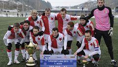 Slavia porazila ve finále Olomouc a ovládla zimní Tipsport ligu