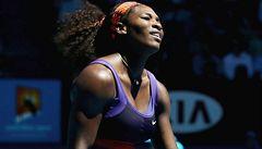 Překvapení na Australian Open: Serena Williamsová vypadla