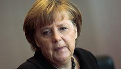 Merkelová: Řecko dělá pokroky, ale možnost odpisu dluhu nevidím