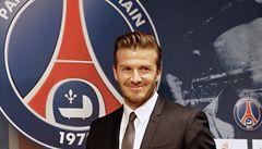 Beckham patří Paris St. Germain. Plat věnuje charitě