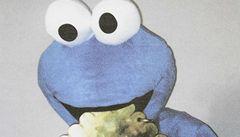 Bizarní loupež: Keksík ukradl obří zlatou sušenku