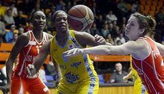 Basketbalistky USK Praha udolaly Mondeville a vydřely postup v EL