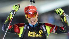 Biatlonista Moravec vybojoval životní úspěch. Vyhrál závod SP v Oslu