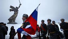 Volgograd se stal opět Stalingradem. Na jeden den