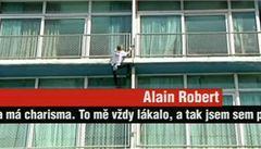 Spiderman Alain Robert pokořil symbol komunistické Kuby