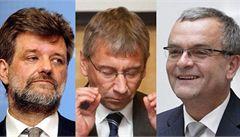 Který ministr loni rozdal největší odměny? Drábek, Kubice a Kalousek