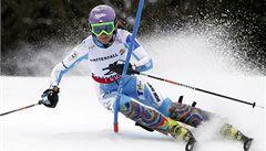 Slalomářka Strachová dojela ve francouzském Courchevelu osmnáctá