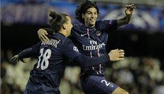 Brzké góly přiblížily Juventus i PSG k postupu do čtvrtfinále