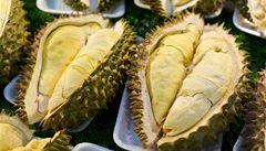 Hodně smradlavé ovoce: durian je nejlepší se zmrzlinou