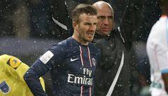 Beckham přiznal, že byl před debutem za PSG nervózní