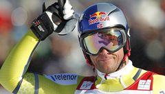 Nor Svindal obhájil malý křišťálový glóbus v superobřím slalomu
