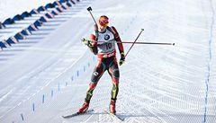 Biatlonista Moravec doběhl na olympijské trati v Soči osmý
