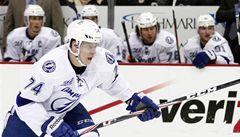 Nejdřív koupit oblek, pak do NHL. Palát debutoval za Tampu