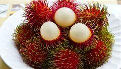 Rambutan vypadá jako mořský ježek a chutná jako ananas