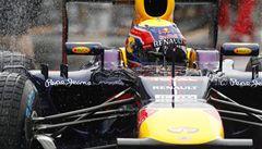 Webber v kvalifikaci porazil Vettela a odstartuje jako první