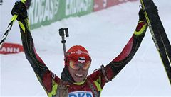 Skvělá biatlonistka Soukalová ovládla v Rusku třetí závod v řadě