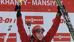 Vítězný hattrick biatlonistky Soukalové nadchl matku i odborníky