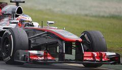 McLarenu se formule hodně nepovedla. Zajel jsem maximum, říká Button