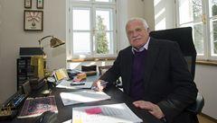 ODS je podle Klause v ideové a personální krizi, návrat do strany však nechystá