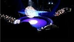 V moskevském cirkusu se zřítil akrobat z výšky 26 metrů