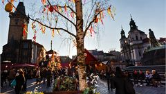 Velikonoční trhy v centru Prahy se letos otevřou první jarní den