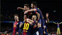 Barcelona vstala z mrtvých. Vyhrála 4:0 a slaví postup