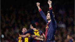 Kouč Barcelony: Kritika byla přehnaná. Hráči ukázali výjimečnost