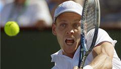 Berdych vyhrál 400. zápas na okruhu ATP, Kvitová v Madridu vypadla