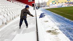 Zápas mezi Jihlavou a Boleslaví byl kvůli sněhu odložen