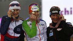 Sáblíková získala na mistrovství světa stříbro na trati na 3000 metrů