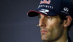 Webber možná po sezoně v Red Bullu skončí kvůli nesvárům s Vettelem