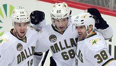 VIDEO: Tři body Jágra Dallasu nestačily, Gudas dal první gól v NHL