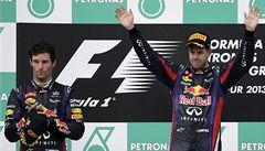 Red Bull už nebude vázat Vettela s Webberem týmovou taktikou