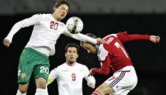Remíza Dánska s Bulharskem pomohla Čechům