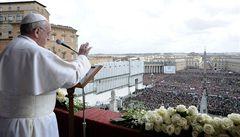 Papež odsloužil velikonoční mši
