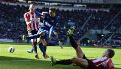 Sunderland daroval United výhru, Chelsea selhala a je čtvrtá