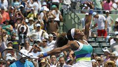 Serena Williamsová získala v Miami rekordní šestý titul