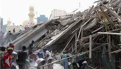 V Tanzanii se zřítila dvanáctipatrová budova, 17 mrtvých