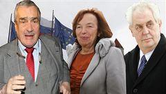 Projev arognace, hodnotí slovenský list Klausovou jako velvyslankyni