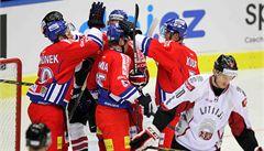 Češi porazili Lotyšsko 4:3 díky debutantu Kubátovi