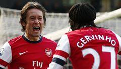 Skvělý pocit, smál se Rosický. Arsenal ho chce udržet