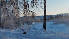 Stařenka žije sama na Sibiři, do města to má dva týdny chůze