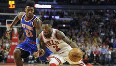 Chicago ukončilo v NBA vítěznou šňůru basketbalistů New Yorku