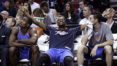 Oklahoma vyhrála Západní konferenci NBA, Veselý dal osm bodů