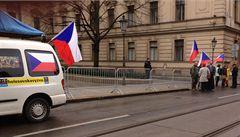 Aktivista Popelka z Holešovické výzvy dostal za najetí do policisty podmínku