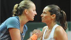 Kvitová padla ve finále, v Katovicích nestačila jen na Vinciovou