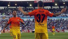 Barcelona i bez hvězd smetla Zaragozu 3:0