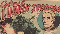 Komiksový hrdina Ludvík Svoboda. Všimli si ho i v Americe