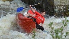 Řeky jsou stále ještě sjízdné, vodáci je budou zamykat o víkendu