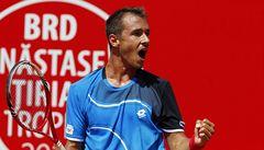 Rozjetý Rosol postoupil v Bukurešti do prvního finále v kariéře